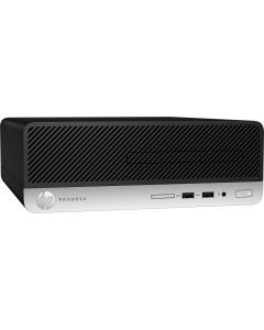 Desktop HP Prodesk 400 G6 SFF, I3 9100, 4GB, 500GB, WIRELESS + BLUETOOTH, FREE DOS,  39F95LA#AC4