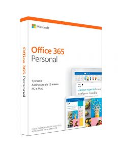 Microsoft Office 365 Personal 32/64 Anual 2019 ESD, QQ2-00008